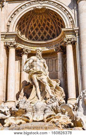 Hdr Trevi Fountain, Rome