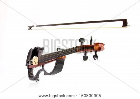 Electric Violin Isolated