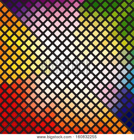 Beautiful vector geometric bright background. Design element.