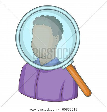 Candidate icon. Cartoon illustration of candidate vector icon for web