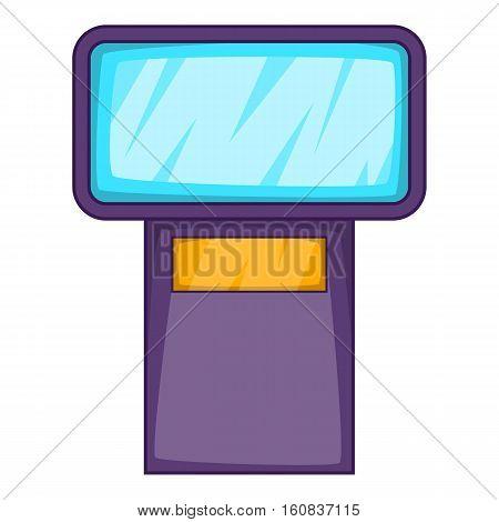 Flash icon. Cartoon illustration of flash vector icon for web