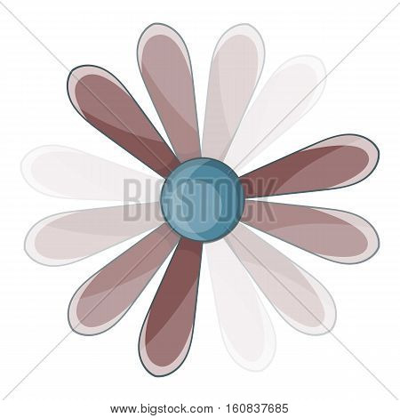 Propeller icon. Cartoon illustration of propeller vector icon for web