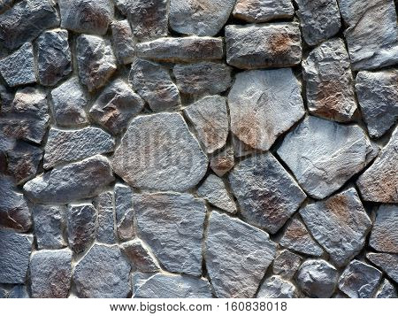 Stone wall background texture. Old Paving Stones.