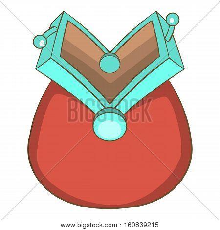 Empty wallet icon. Cartoon illustration of empty wallet vector icon for web