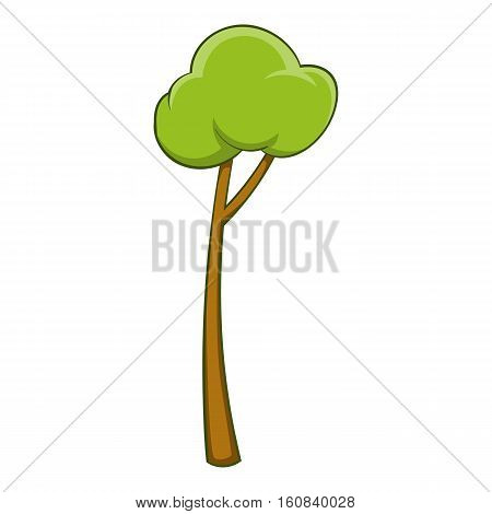 Sapling icon. Cartoon illustration of sapling vector icon for web