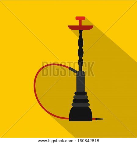 Hookah icon. Flat illustration of hookah vector icon for web