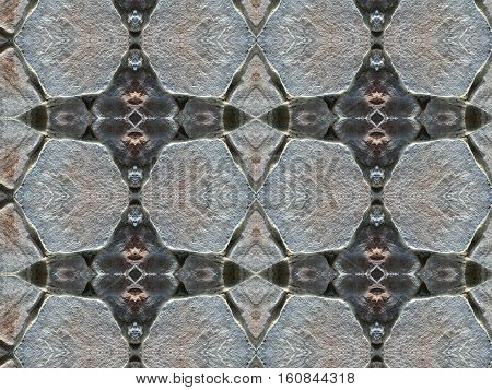 Stone wall background texture. Old Paving Stones pattern.