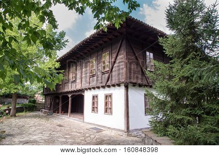 traditional house in old town Elena Bulgaria