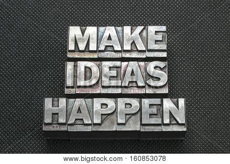 Make Ideas Happen Bm