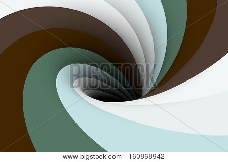 colorful trench black hole background 3d illustration
