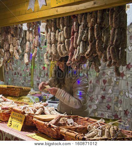 Christmas Market In Como