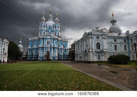 Smolny Cathedral - Orthodox Church