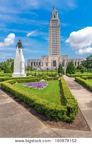 Baton Rouge, Louisiana, USA at Louisiana State Capitol.