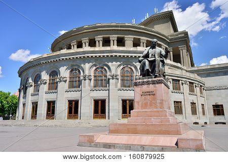 Armenian National Academic Theatre of Opera and Ballet in Yerevan Armenia
