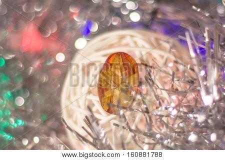 Epoxy Resin Crystal On Brooch