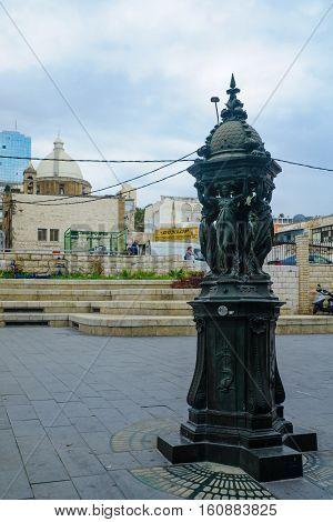 Paris Square In Haifa