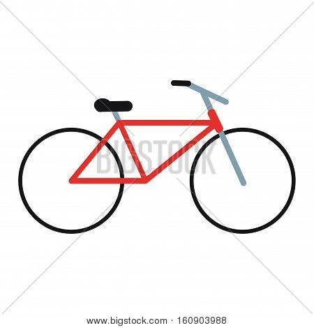 bicycle transport active sport vector illustration eps 10