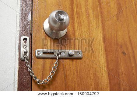 wooden door locks for security brown, open, house, guard, build,