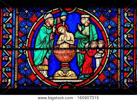 Stained Glass - Baptism