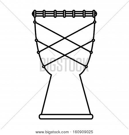 bongo instrument isolated icon vector illustration design