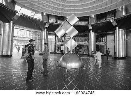 People At The Shopping Mall In Kuala Lumpur
