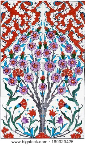 Ceramics Decor Flower Tiles