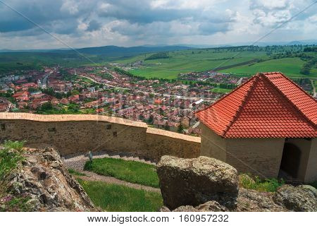 Rupea is one of the oldest citadels in Romania.