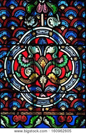 Stained Glass - Decorative Pattern
