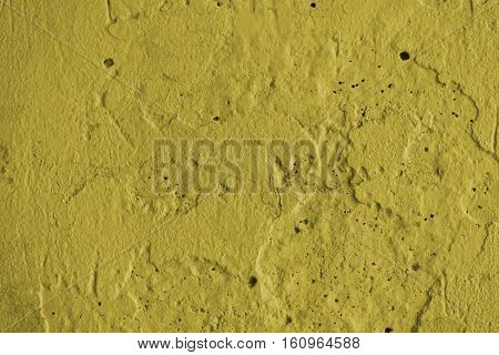 Stucco yellow wall background or texture.Plaster, plaster texture, plaster background.  Yellow wall, yellow background. Concrete, concrete background.