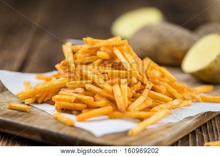 Portion Of Potato Sticks