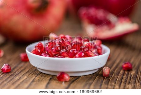 Pomegranate (selective Focus)