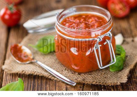 Tomato Sauce (selective Focus)