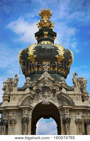 Dresdner Zwinger in Dresden, State of Saxony, Germany