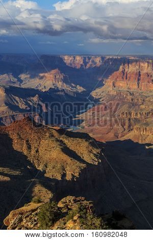 Breathtaking View Of Grand Canyon From South Rim, Arizona, United States