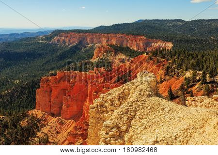 Gorgeus Rock Formation. Hoodoos In Bryce Canyon National Park. Utah, United States