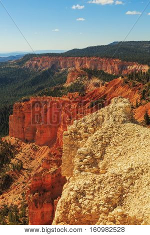 Alluring Rock Formation. Hoodoos In Bryce Canyon National Park. Utah, United States