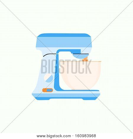 Juice kitchen blender machine easy to make drinks, kitchen blender healthy food mix. Kitchen blender shake cooking.  Equipment in flat style. Vector eps10