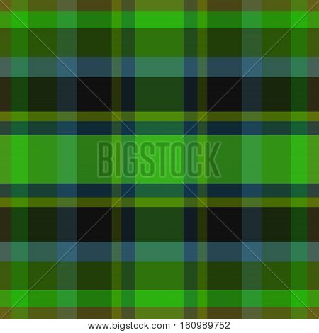 abstract vector tartan seamless - green blue and brown