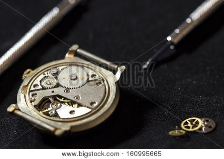 length of time, the process of repair of mechanical watches
