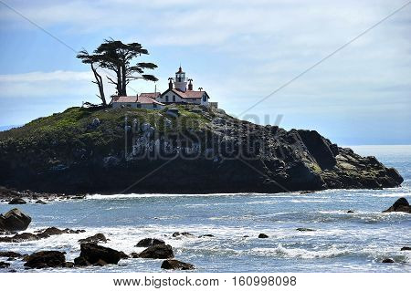 This is a photo of a lighthouse.