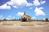 Alto Vista Chapel on Aruba island in the Caribbean poster