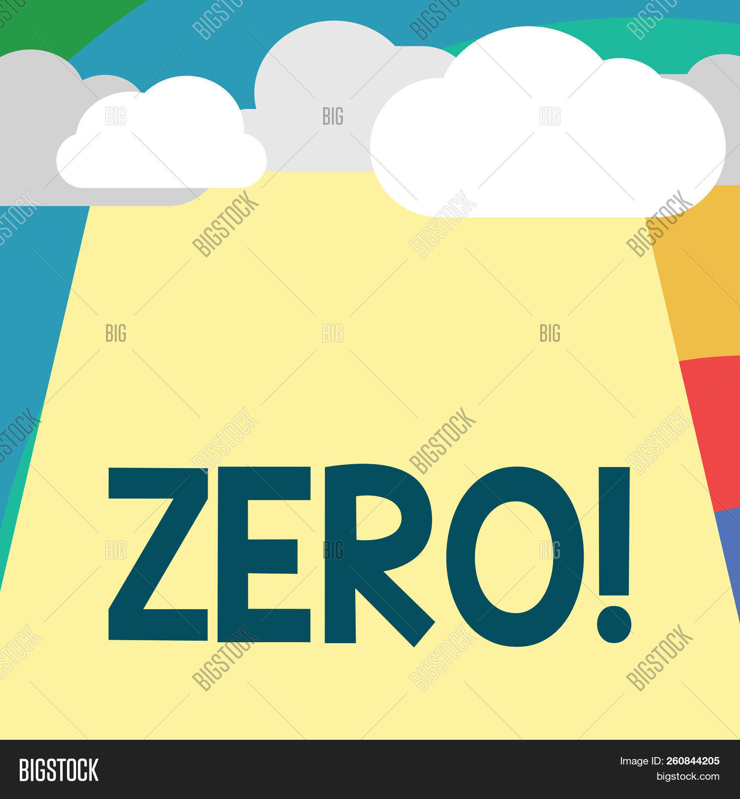 Text Sign Showing Zero Image & Photo (Free Trial) | Bigstock