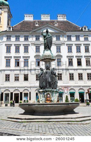 Monumento de Kaiser Ferdinands, Viena, Austri