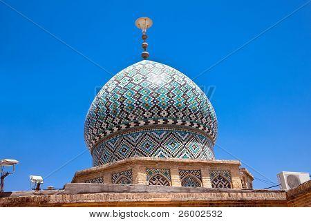 Dome of Nasir al-Mulk Mosque, Nasir al-Molk Mosque, Shiraz, Iran poster