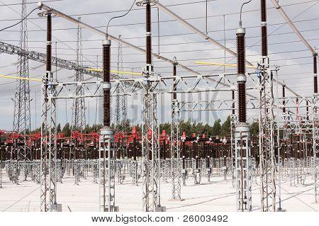 High Voltage Station