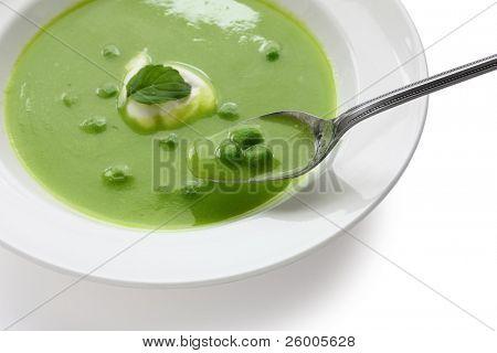 Green Pea Soup,Saint-Germain poster