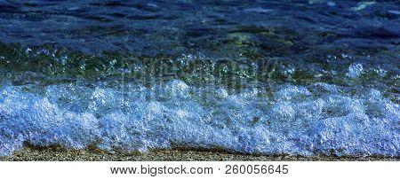 Adriatic Sea In Tucepi, Makarska Riviera, Dalmatia, Croatia