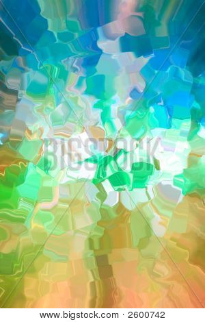 Multicolored Geometric Abstract Background