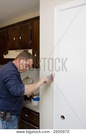 Painter Painting Trim
