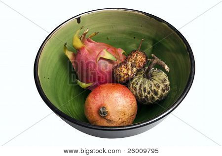 Exotic Fruits In A Bowl